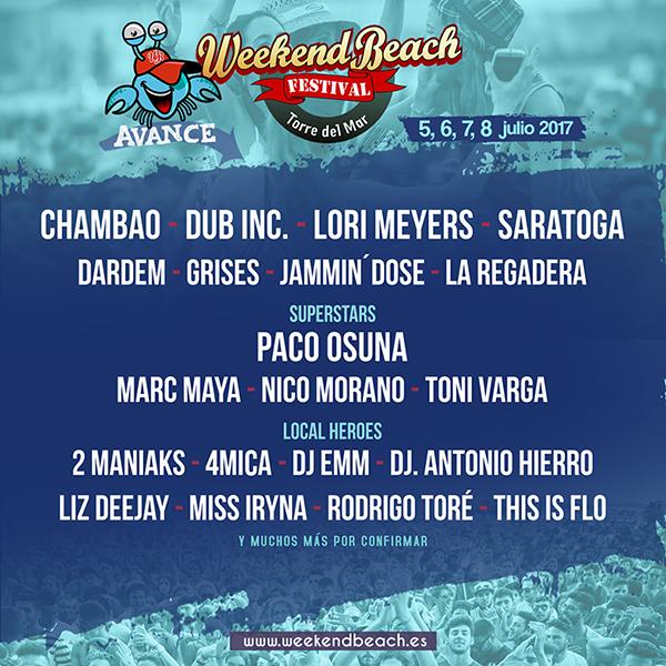WB_5893 Paco Osuna al frente de las nuevas confirmaciones del Weekend Beach Festival