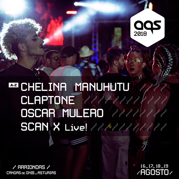 avance_fe48 Óscar Mulero, Scan X live, Chelina Mantutu y Claptone se suman al cartel de Aquasella 2018