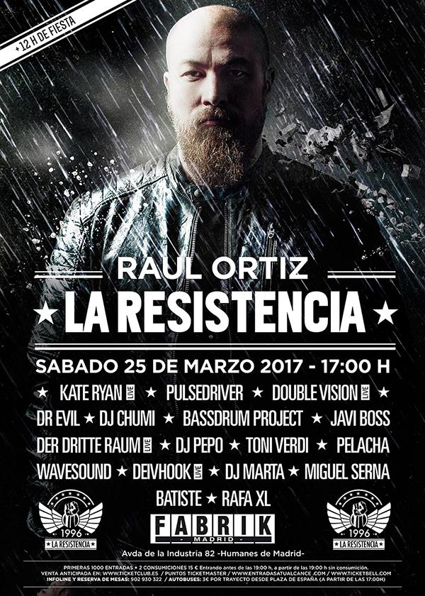cartel_58d1_58d2_58d2_58d2 DJ Pepo se une a La Resistencia el próximo 25 de marzo en Fabrik